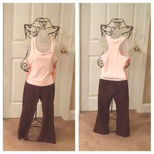 NIKE WORK OUT PANTS & TOP 🏀
